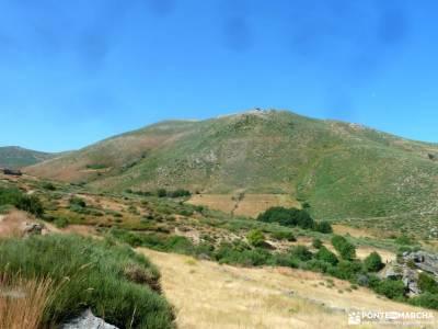 Gredos: Sierras del Cabezo y Centenera;las presillas de rascafria nacimiento río cuervo estacion de